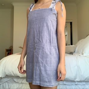 URBAN OUTFITTERS VINTAGE TIE UP DRESS 💙